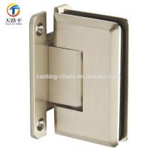 charnière de porte en aluminium pour porte en verre