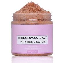 OEM Organic Deep Cleansing Exfoliating Himalayan Pink Salt Body Scrub