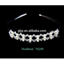 New fashion wholesale strass pearl hair band