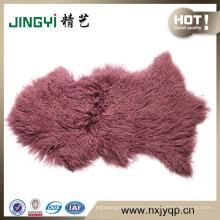 Aliababa Sale online 100% Curly Mongolian Lamb Fur Skin