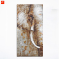 Elephant Half Oil Painting