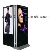 """42 """"Двойной монитор стенд Kiosk Case 4k ЖК-панель ЖК-панель 42 Рекламный плеер"""