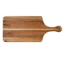 Большая доска для сыра и колбасных изделий, используется как доска для сервировки закусок или доска для пиццы, изготовленная из красивой акации