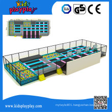 Kidsplayplay Commercial Large Size Customized Bungee Indoor Trampoline Park