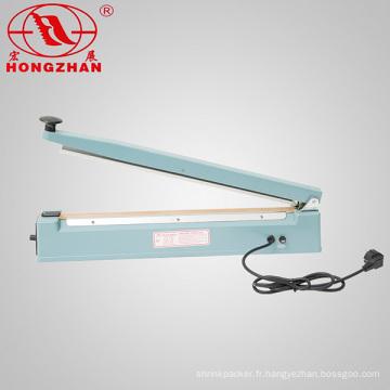 Direct fabricant main Machine avec corps de fer de cachetage pour soudure à chaud Film PE complexe POF