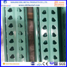 Steel Warehouse Popular Teardrop Type Racking