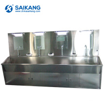 SKH036-4 Hospital Stainless Steel Washing Sink With Hot Water System