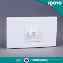 A1081 Interrupteur à gradateur de gradin américain Standard américain Interrupteur à mur tactile Interrupteur à capteur de lumière électrique
