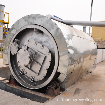 lanning recyclen polyester stapelvezel making machine