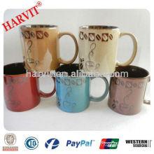 Liling Nouveaux produits Tasses en céramique Tasses de café en céramique réactive Acheter en vrac en Chine