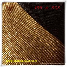 Maille décorative / en métal de rideau avec le prix usine (ISO)