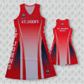 Custom sublimation women dress wholesales netball jerseys