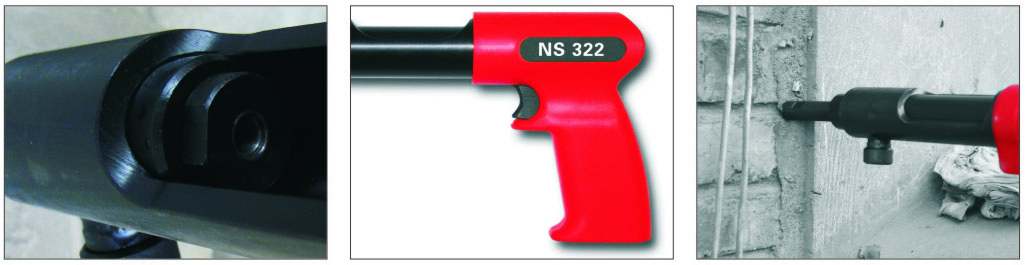 Single Shot powder actuated fastening tool NS322