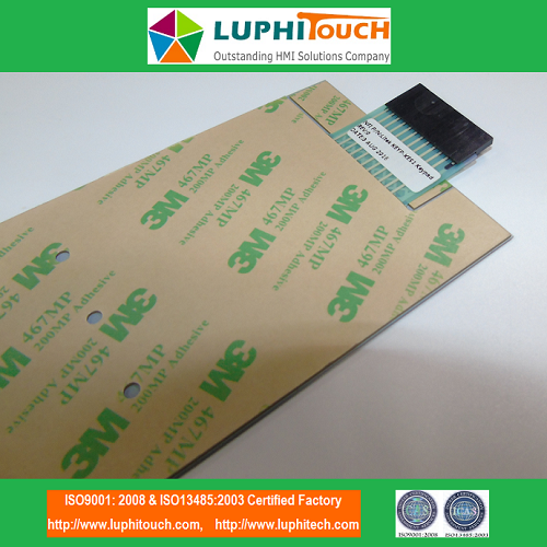 Door Entery Safety Lock Digital Printing Membrane Switch 3