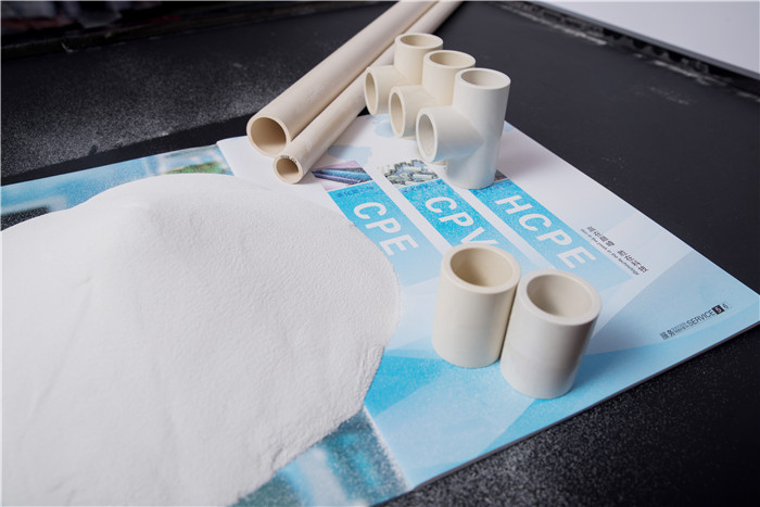 Impact modifier for PVC grade chlorinated polyethylene chemical CPE 135A