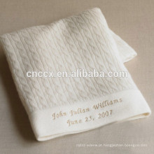 15BLT1024 cobertor de bebê personalizado com nome