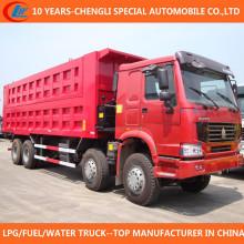 12 Wheels Dump Truck 35t Tipper Truck for Sale