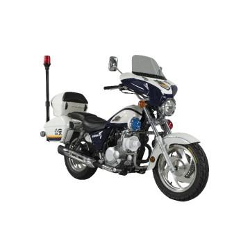 Motorrad 500cc zur Polizei