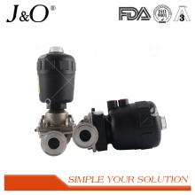 Nouvelle valve de diaphragme pneumatique sanitaire d'acier inoxydable de conception
