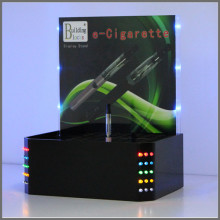 Black Acrylic E Cigarette Display Stand with LED Light