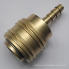 1/4''German brass quick connectors hose bar