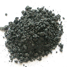 Artificial graphitized pet coke GPC for steelmaking and casting