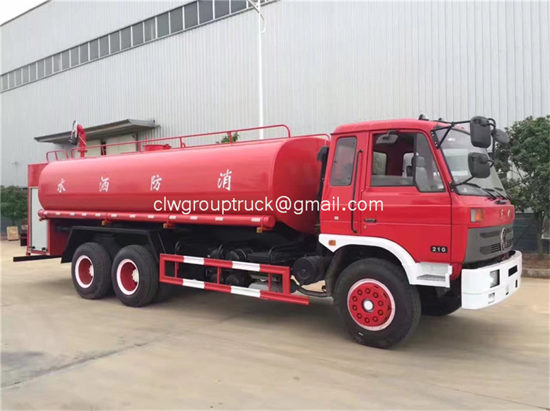 Dongfeng 6x2 Water Tanker Truck 5