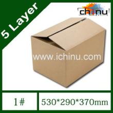Caja de cartón ondulado de papel de cinco capas / Caja de embalaje / Caja de papel de embalaje (1293)