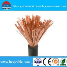 Yhf cable flexible de soldadura de caucho / PVC de la vaina del puerto de Ningbo