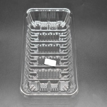 Supermarket Clear Plastic Packaging Boxes for Food
