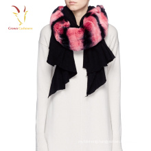 Pashmina Fur Cashmere Scarf Nepal Brand