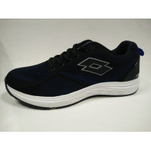 China Wholesale Price Comfortable Navy Sports Shoes for Man