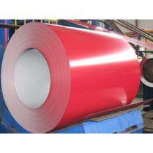 Bobine en acier recouvert de couleur de haute qualité