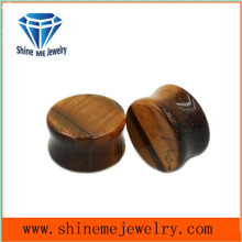 Natural Stone Jewelry Piercing Tiger Eye Jewelry Earplug