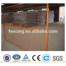 PVC revestido branco soldado painel de cerca provisória de 6ft x 10ft Canadá / painéis de vedação de metal soldada temporária para venda (preço de fábrica)