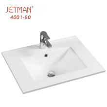 Not Easy to Scale Retangular Basin Bathroom Vanity with One Hole