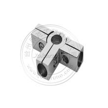 Conexões de tubo cromado de 25 mm