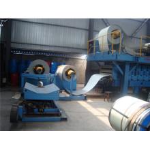 PU Sandwich panel de fabricación de techo de la máquina