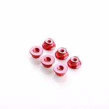 Écrous en nylon métriques de serrure d'insertion en nylon avec la bride