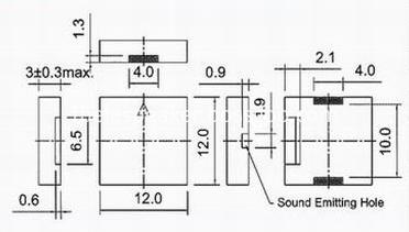 SMT buzzer