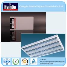 Revêtement de poudre fonctionnel de dissertation thermique de polyester époxyde pour des puits de chaleur des lumières de LED