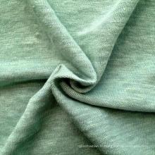Tissu en lin tricoté en lin (QF14-1591)