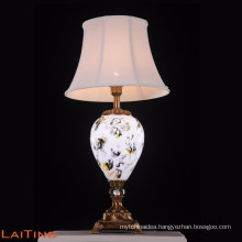 Luxury metal table lamp dimmable led desk lamp 2288