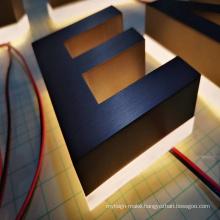 acrylic logo led signs electrical fancy company names back lighting up