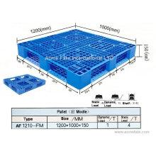Productos de embalaje de doble cara paletas de plástico