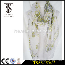 sexy lady daily accessories scarve 100 polyester scarf hot fix rhinestone technical scarf