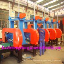 5 cabeças de serra de madeira horizontal automática do CNC da serra de fita do CNC
