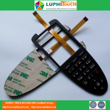 Copper Flex FPC Circuit Rubber Keypad Membranbe Switch