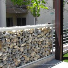 Popular PVC coated 2.7mm double twist hexagonal 2x2x1 gabion wire box retaining stone wall supplier