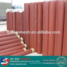 Malha metálica expandida para uso pesado / malha metálica expandida revestida de pó para cercas (preço de fábrica)